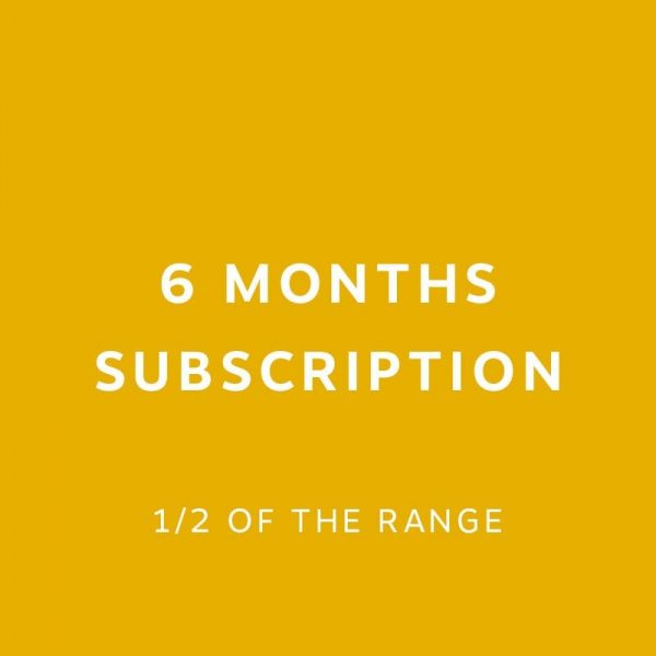 6 months Subscription 1