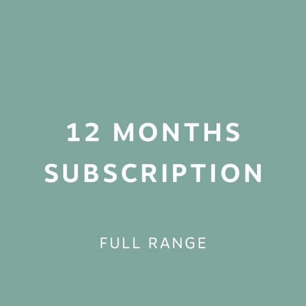 12 months Subscription 1