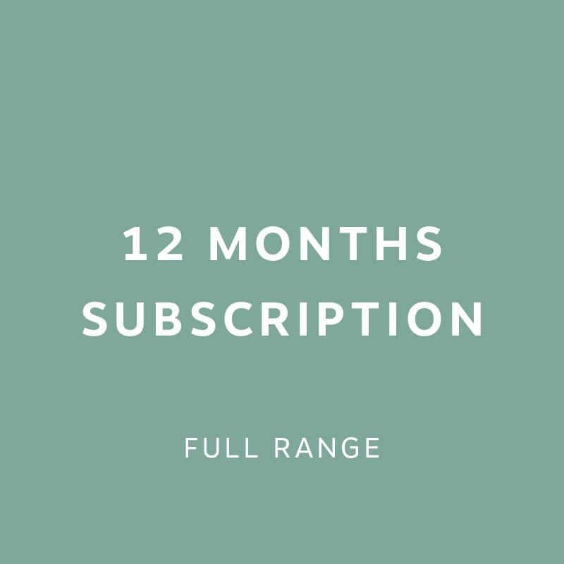12 months Subscription 3