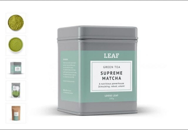 matcha tea powder uk - leaf tea shop